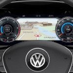 2015 VW Passat press image Active Info Display
