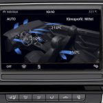 2015 VW Passat press image centre console display