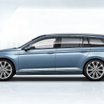 2015 VW Passat press image estate profile