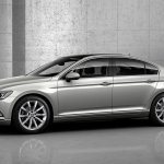 2015 VW Passat press image front left three quarter