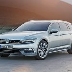 2015 VW Passat press image front left three quarters