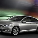 2015 VW Passat press image tracking shot