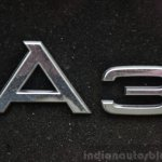 Audi A3 Sedan Review A3 badge