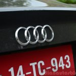 Audi A3 Sedan Review Audi badge