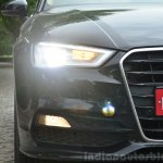 Audi A3 Sedan Review Xenon lights