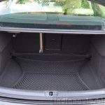 Audi A3 Sedan Review boot
