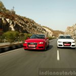Audi A3 Sedan Review dynamic front end