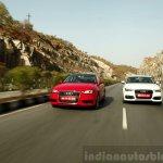 Audi A3 Sedan Review dynamic front end