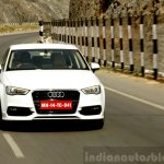 Audi A3 Sedan Review dynamic front