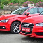 Audi A3 Sedan Review front ends