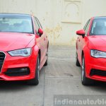 Audi A3 Sedan Review front fascias