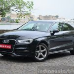 Audi A3 Sedan Review front quarter