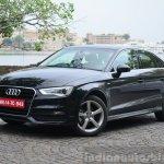Audi A3 Sedan Review front quarter