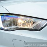 Audi A3 Sedan Review halogen headlight