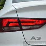 Audi A3 Sedan Review halogen taillight