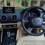 Audi A3 Sedan Review interiors