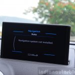 Audi A3 Sedan Review navigation
