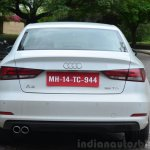 Audi A3 Sedan Review rear base variant