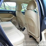 Audi A3 Sedan Review rear seat legroom