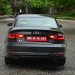 Audi A3 Sedan Review rear