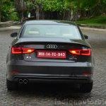 Audi A3 Sedan Review rear