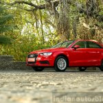 Audi A3 Sedan Review red front quarter