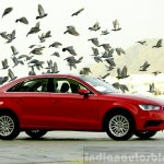 Audi A3 Sedan Review red side