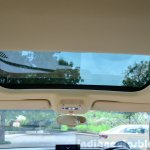 Audi A3 Sedan Review sunroof