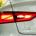 Audi A3 Sedan Review taillight LED