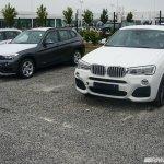 BMW X4 M Sport spied front quarters