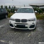 BMW X4 M Sport spied front