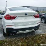 BMW X4 M Sport spied rear