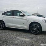 BMW X4 M Sport spied side