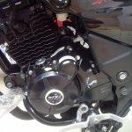 Bajaj Discover 150 S spied engine