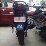 Bajaj Discover 150 S spied rear