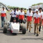 Camber Racing CR14 at Supra SAE 2014 team Day 2