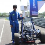 Camber Racing CR14 at Supra SAE 2014 with driver