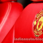 Chevrolet Beat Manchester United edition Man U logo on seats