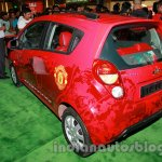 Chevrolet Beat Manchester United edition rear three quarter