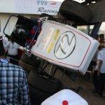 Day 0 Camber Racing CR14 Supra SAE 2014 tilt test