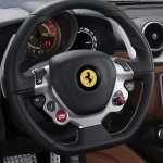 Ferrari California T steering wheel