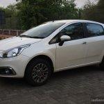 Fiat Punto Evo 1.4-litre Fire petrol review front three quarter left