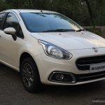 Fiat Punto Evo 1.4-litre Fire petrol review front three quarter