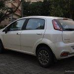 Fiat Punto Evo 1.4-litre Fire petrol review rear three quarter left