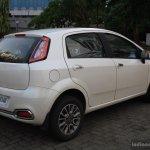 Fiat Punto Evo 1.4-litre Fire petrol review rear three quarter