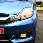 Honda Mobilio Petrol Review grille and lights