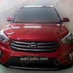 Hyundai ix25 AWD spied front