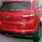 Hyundai ix25 AWD spied rear