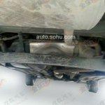 Hyundai ix25 AWD spied underbody