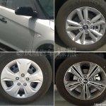 Hyundai ix25 production model spied wheels